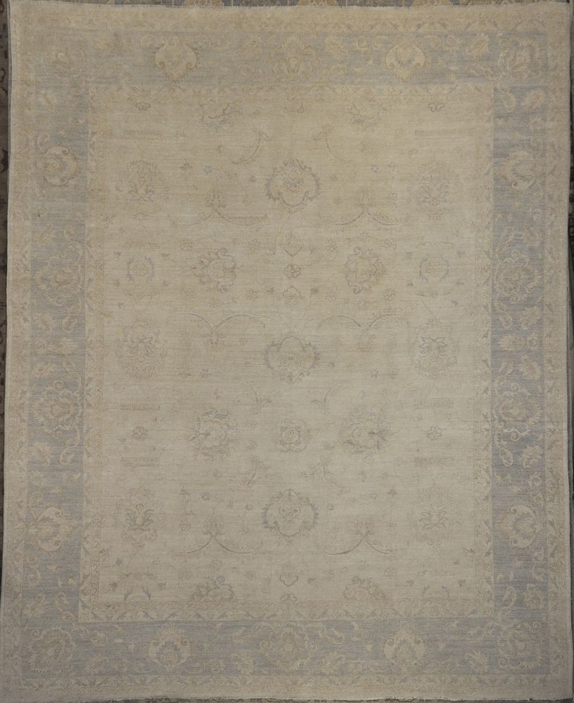 Ziegler & Company Oushak Rug Original Hand Knotted Santa Barbara Montecito rug Collection San Ysidro Ranch rug Michael Kourosh Creation