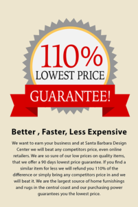 110% Lowest Price Guarantee