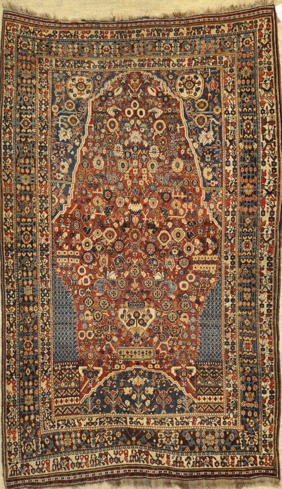 Finest Antique Qashgai Rug santa barbara design center 29842