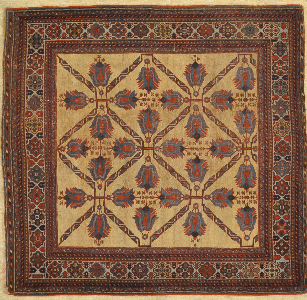 Fine Antique Afshar Rug santa barbara design center 29839