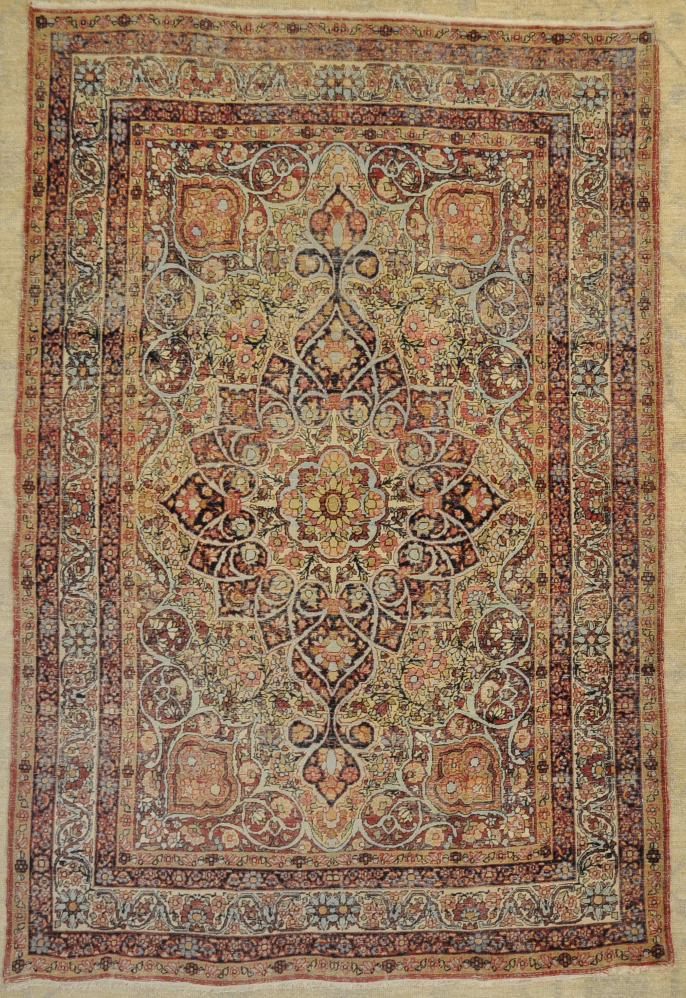 Fine Unique Antique Kermanshah Rug santa barbara design center 29838