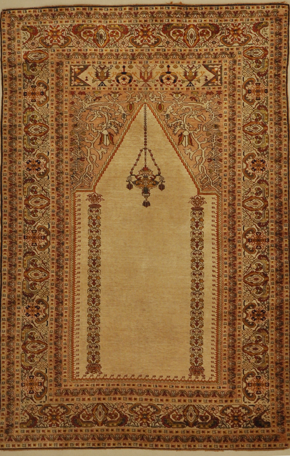 Antique Goerdes Prayer Rug Santa Barbara Design center 30025