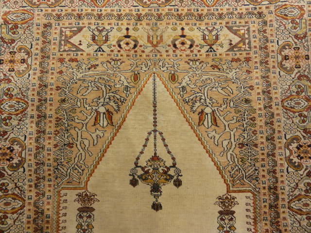 Antique Goerdes Prayer Rug Santa Barbara Design Center 30025 4