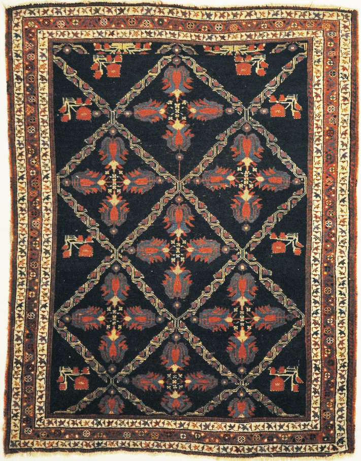 This Antique Afshar rug is the best of its type. Sold by Santa Barbara Design Center, Rugs and More in Santa Barbara, California.