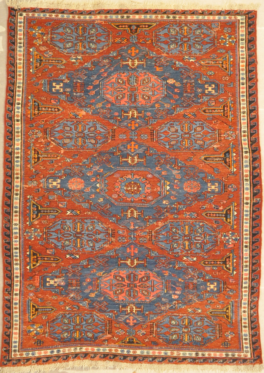 Oriental Rug Bijar Bidjar Runner Northwest Persian Antique