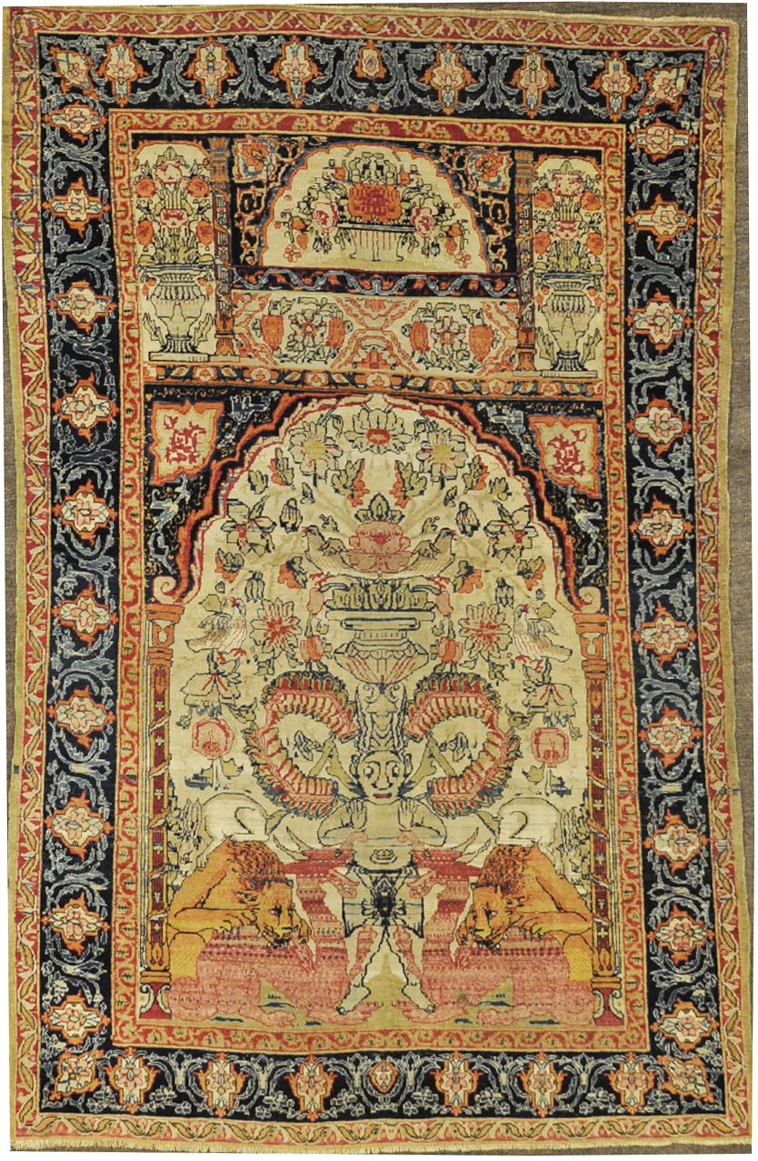 South East Persia, woven around 1700's or earlier.