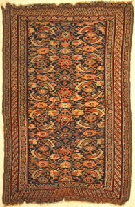 Antique Persian Bijar Rug Woven 19th Century Genuine Authentic Woven Carpet Art Santa Barbara Design Center Rugs and More