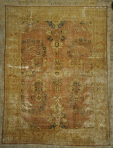 Beautiful Antique Beige Persian Tabriz Rug Genuine Woven Carpet Art Intricate Authentic Santa Barbara Design Center Rugs and More