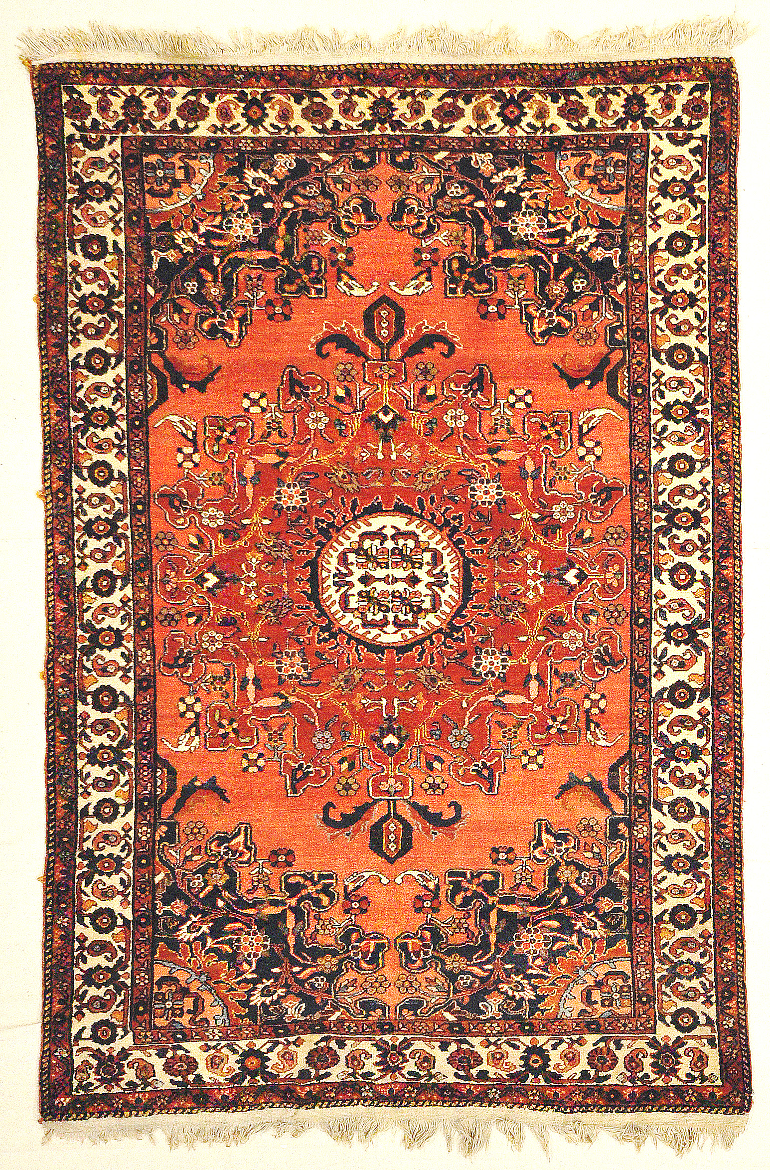 Antique Persian Josan Mint Condition All Natural Dyes Genuine Authentic Woven Carpet Art Santa Barbara Design Center Rugs and More