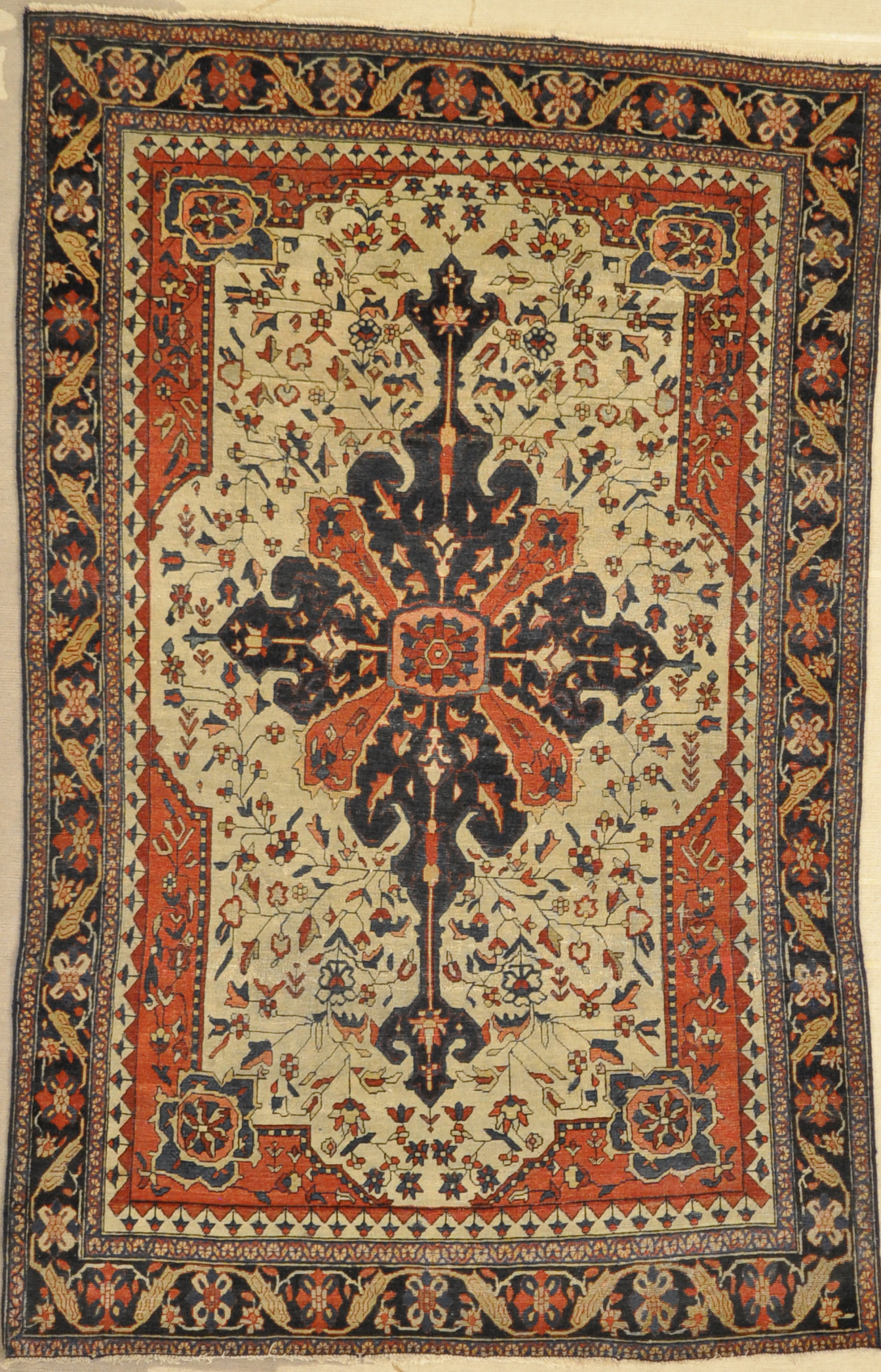Antique Farahan Rug Santa Barbara Design Center