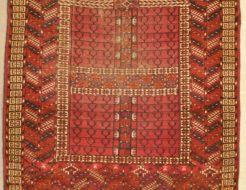 Antique Tekke rug Santa barbara Design center