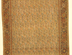 Dated Farahan Botteh (Paisley) Pattern Genuine Woven Carpet Art Authentic Intricate Rug Santa Barbara Design Center Rugs and More