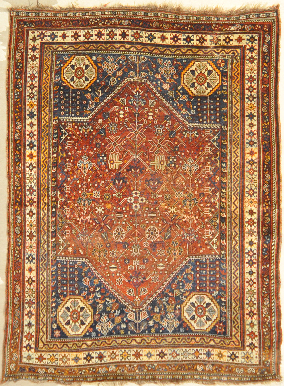 Antique Qashgai Rug Santa Barbara Design Center -