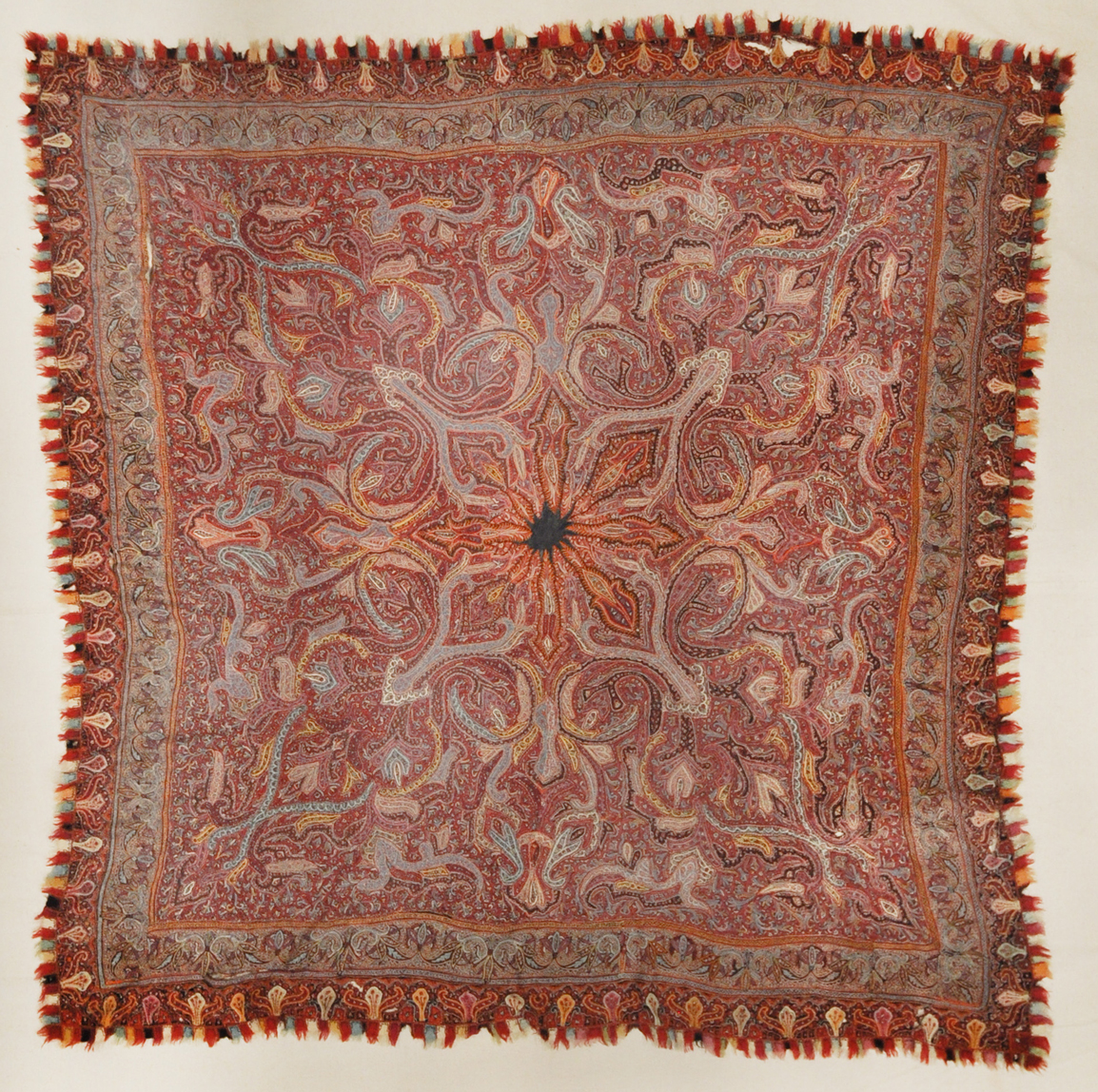 Antique Kerman Shawl Circa 1800