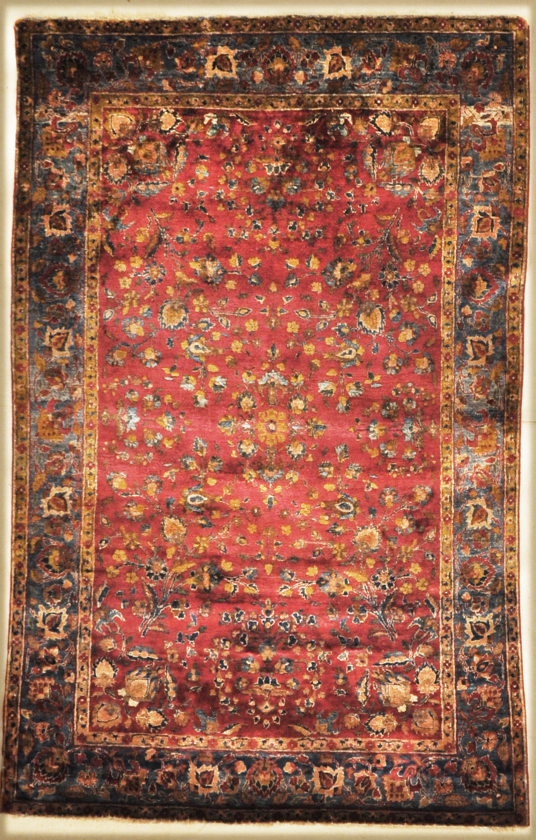 Antique Silk Kashan santa barbara design center 30043