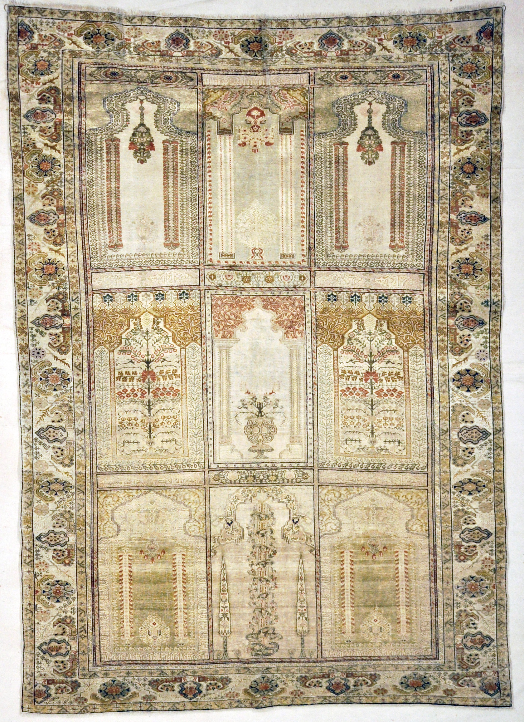 Antique Silk Kayseri Turkish
