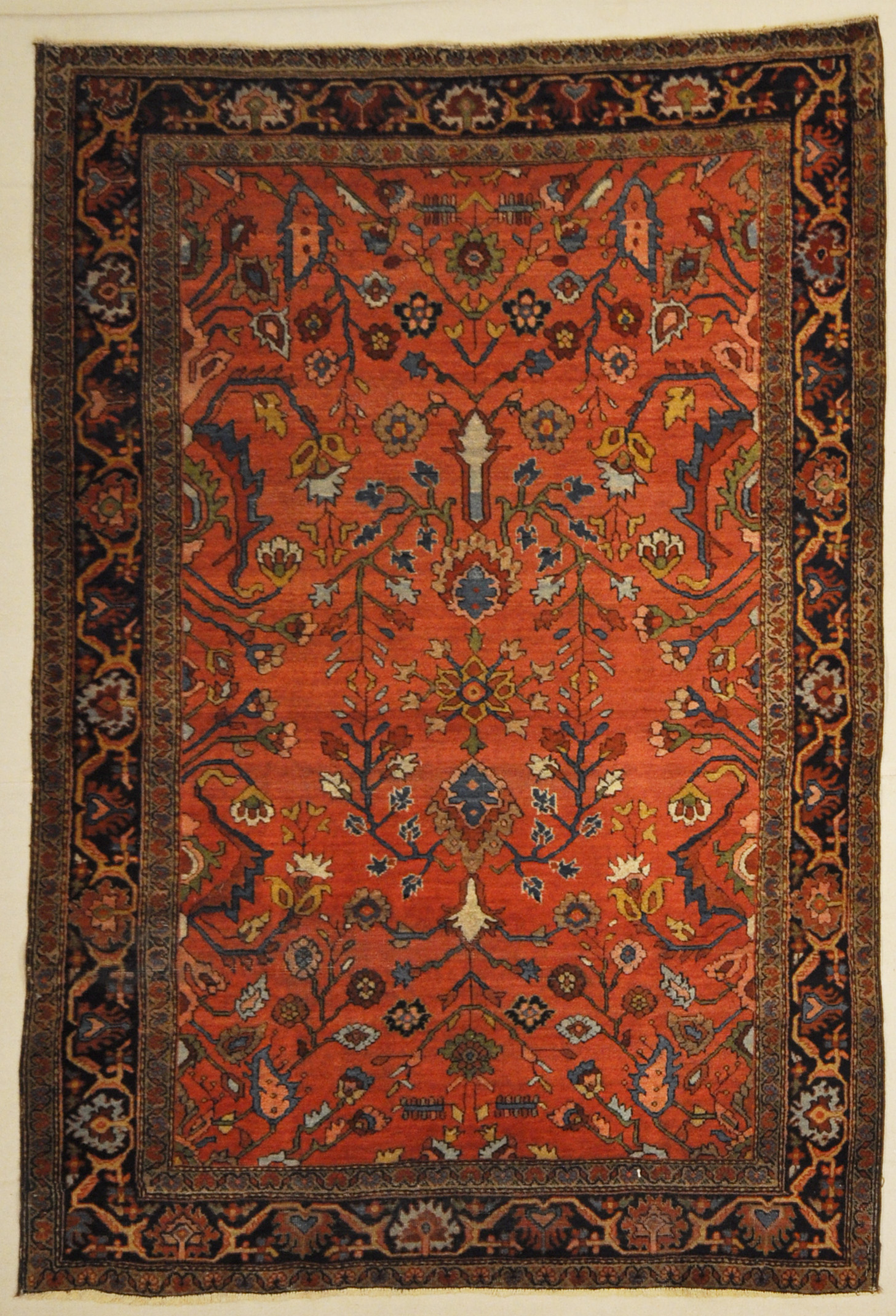 Antique Sarouk Persian Rug