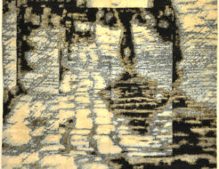Ayka Modern Rug 30333. A piece of genuine woven carpet art sold by Santa Barbara Design Center and Rugs and More. A unique modern rug.