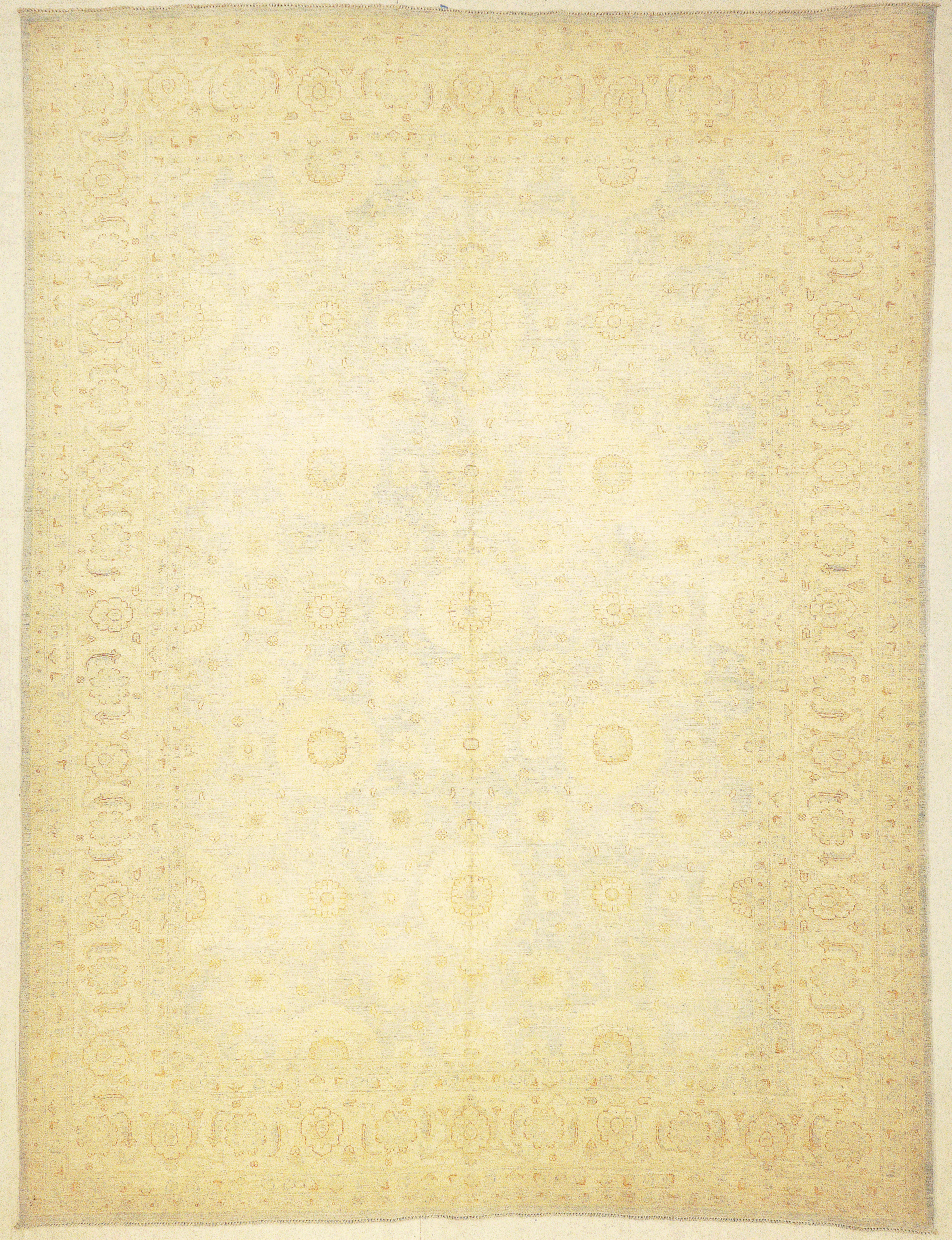 Finest Ziegler Oushak 30292. A piece of genuine woven authentic carpet art sold by the Santa Barbara Design Center, Rugs and More.