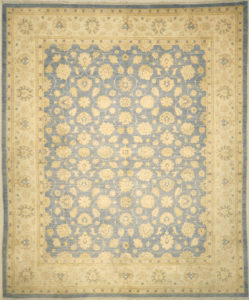 Finest Ziegler Oushak 30283. A piece of genuine authentic woven carpet art sold by Santa Barbara Design Center, Rugs and More.