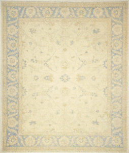 Finest Ziegler Oushak 30284. A piece of genuine authentic woven carpet art sold by Santa Barbara Design Center, Rugs and More.