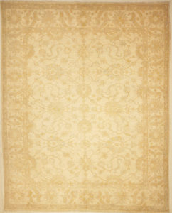 Finest Ziegler Oushak 30285. A piece of genuine authentic woven carpet art sold by the Santa Barbara Design Center, Rugs and More.