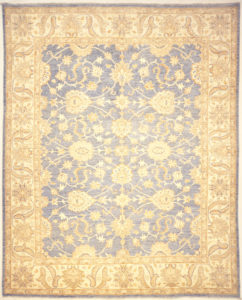 Finest Ziegler Oushak 30286. A piece of genuine authentic woven carpet art sold by the Santa Barbara Design Center, Rugs and More.