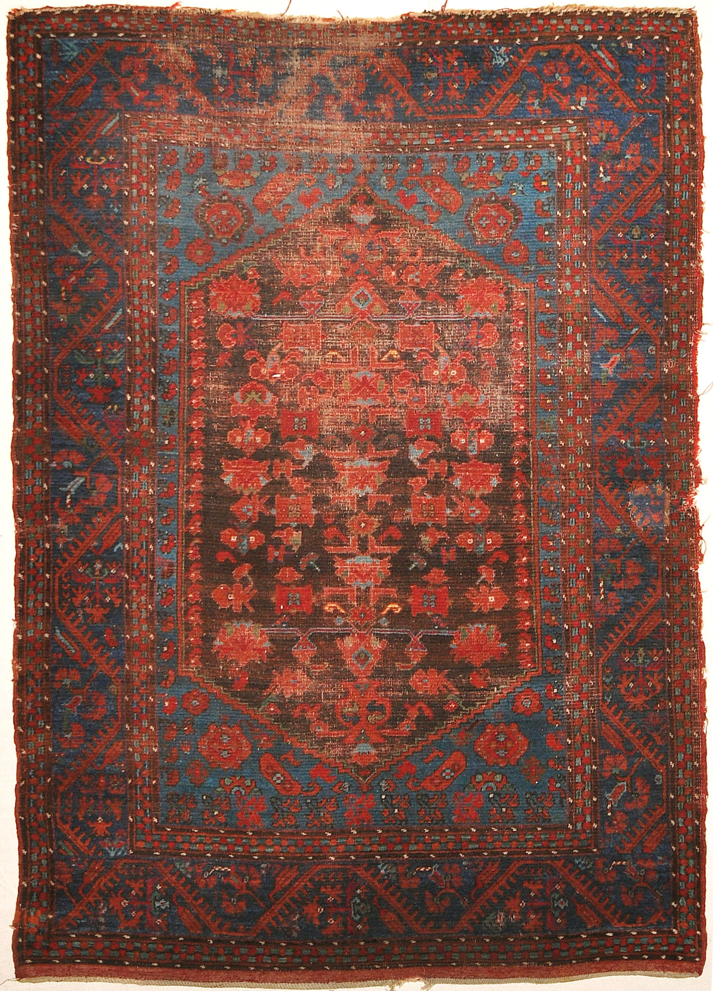 Antique Turkish Kula Rug Circa 1880 Santa Barbara Design