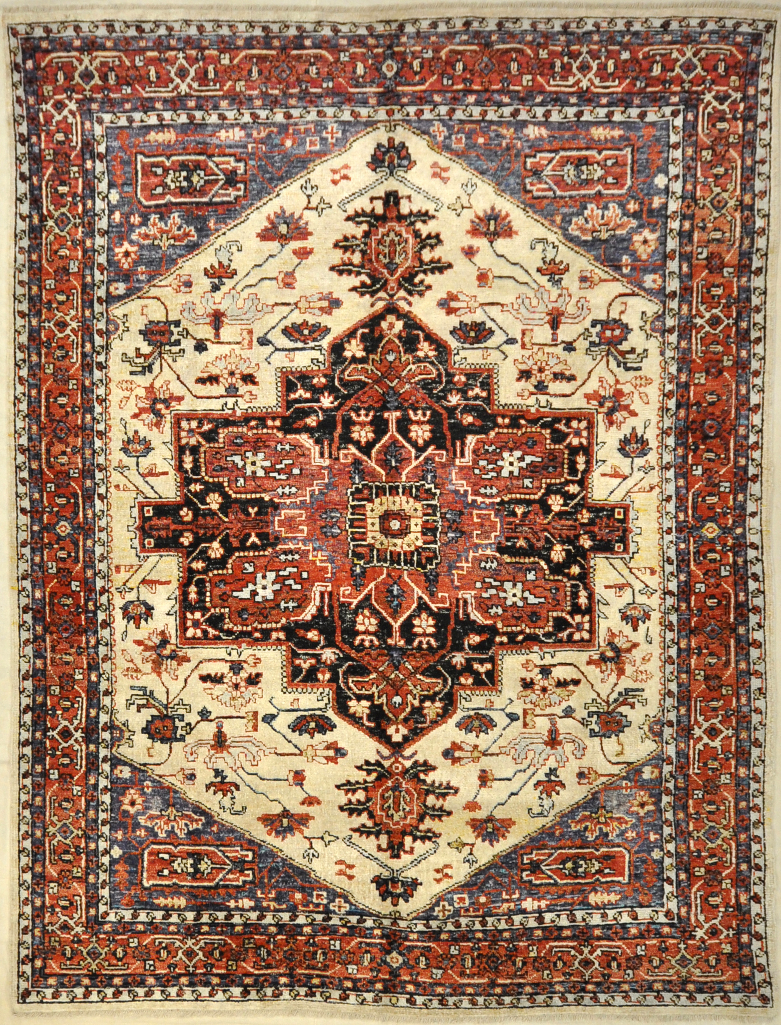 Saree Silk Indian Rug. A piece of genuine woven authentic carpet art sold by Santa Barbara Design Center and Rugs and More.