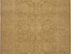 Light Brown Larestan Indian Rug. A piece of genuine woven authentic carpet art sold by Santa Barbara Design Center, Rugs and More.