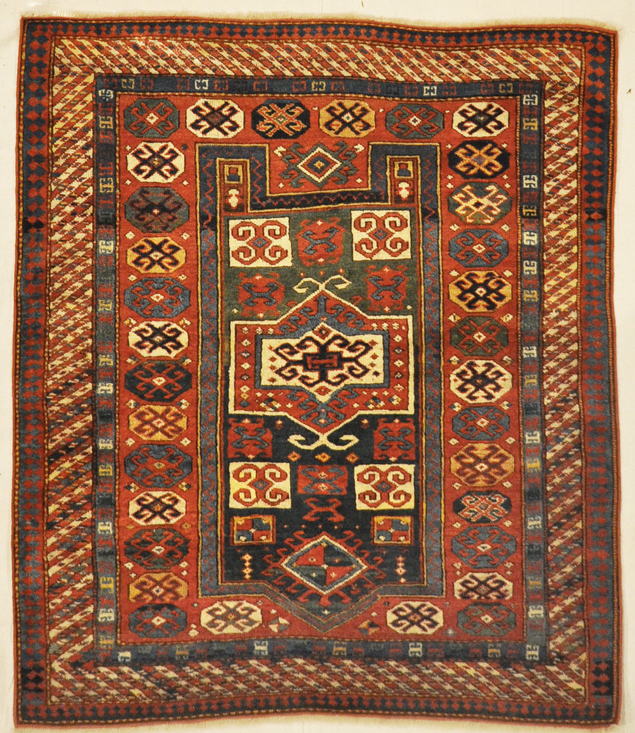 Kazak Prayer Rug santa barbara design center-1
