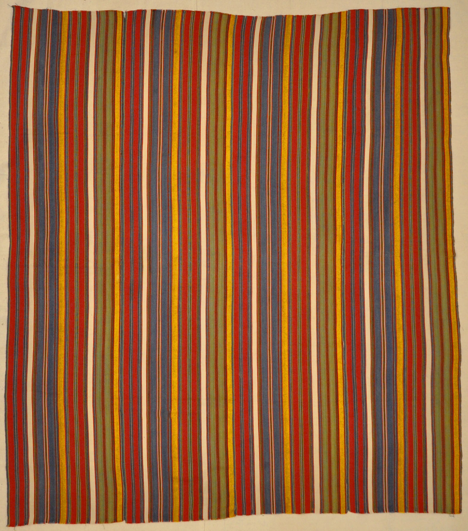 Rare Antique Silk Stripe Jajim santa barbara design center-1