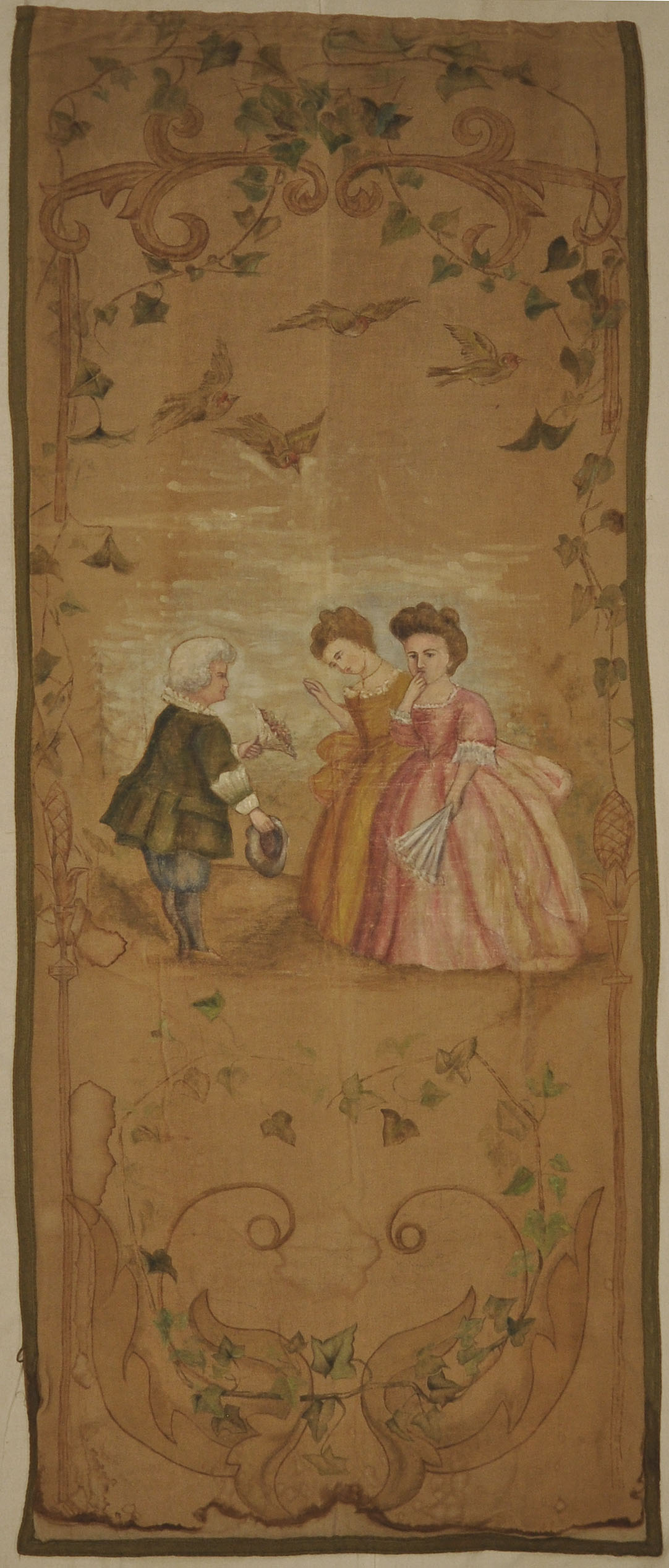 18th Century French Tapestry I santa barbara design center-7