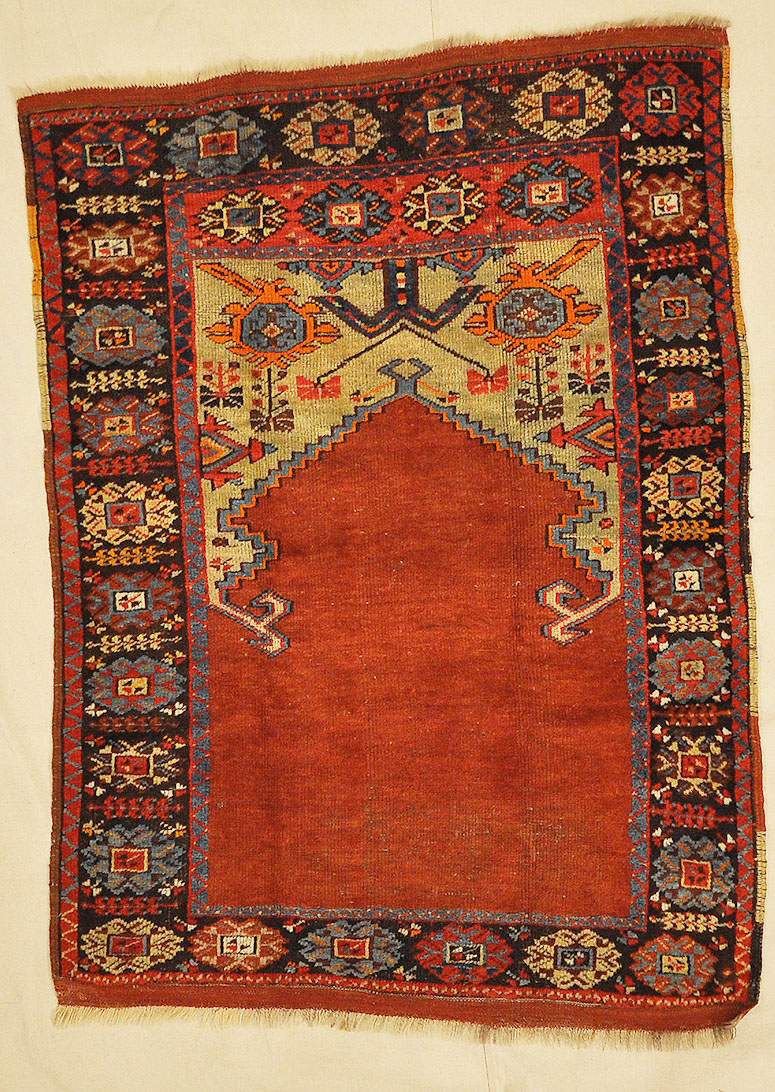 Antique Turkish Mujur Ca. 1930 Rugs & More - Santa Barbara Design Center
