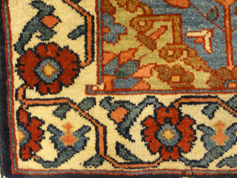 Fine Antique Bakhtiari Rug-Rugs & More-Santa Barbara Design Center