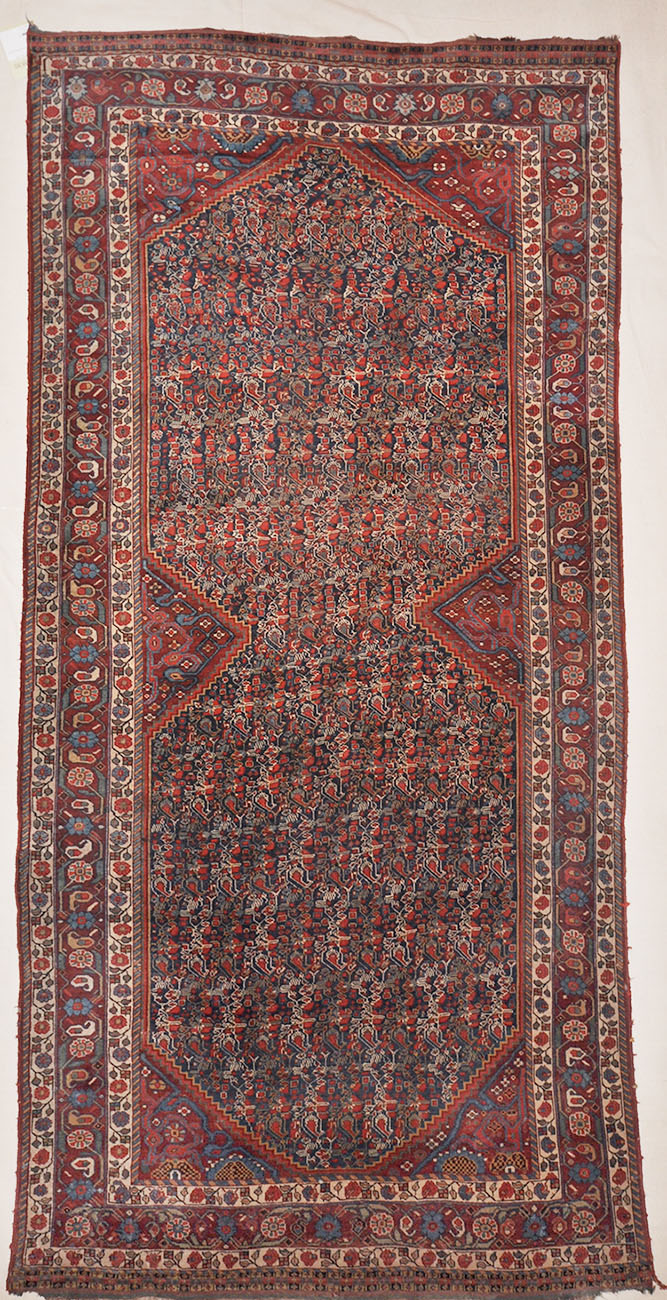 Antique Khamseh Woven C. 1875 Rugs & More-Santa Barbara Design Center