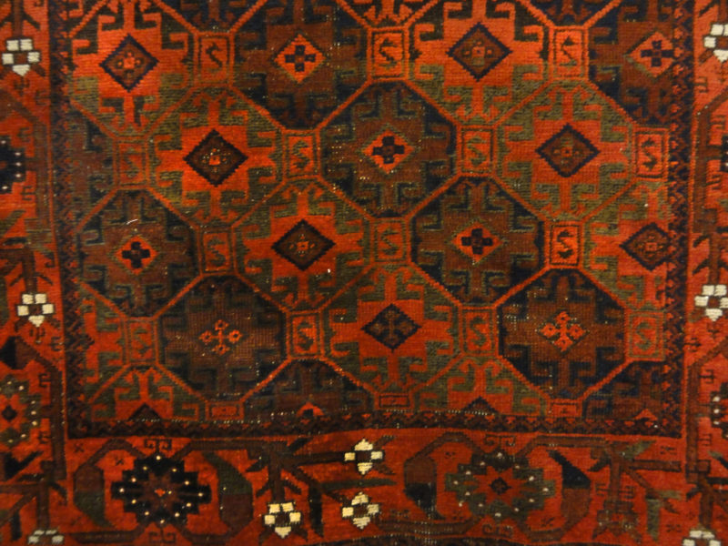 Antique Original Baluch White-Rugs & More-Santa Barbara Design Center
