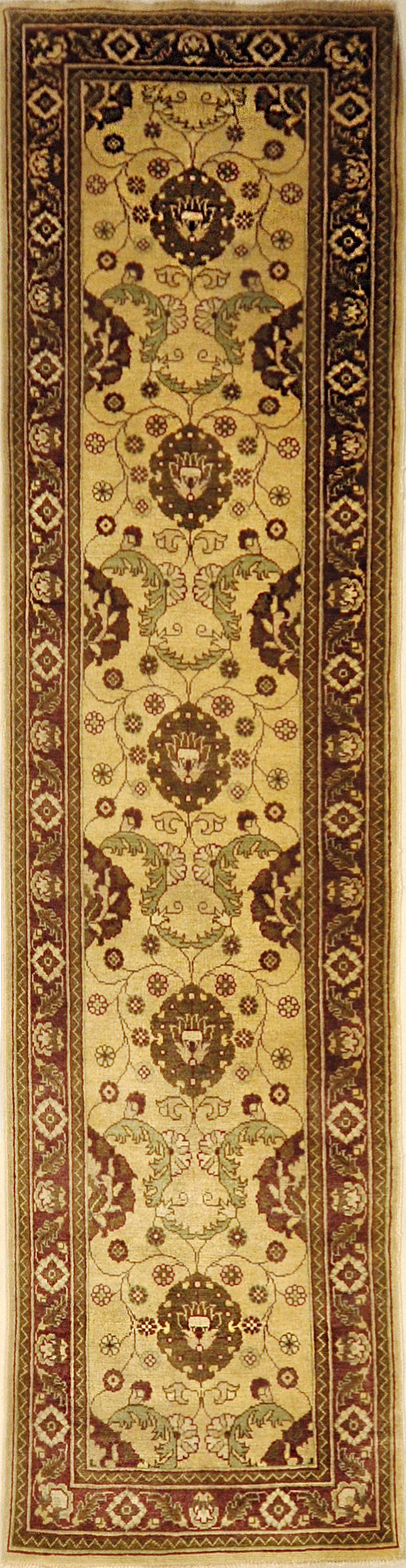 Ziegler and Co Pak Oushak Runner. Designed by Michael Kourosh and woven by Ziegler & Company. Sold by Santa Barbara Design Center, Rugs and More.