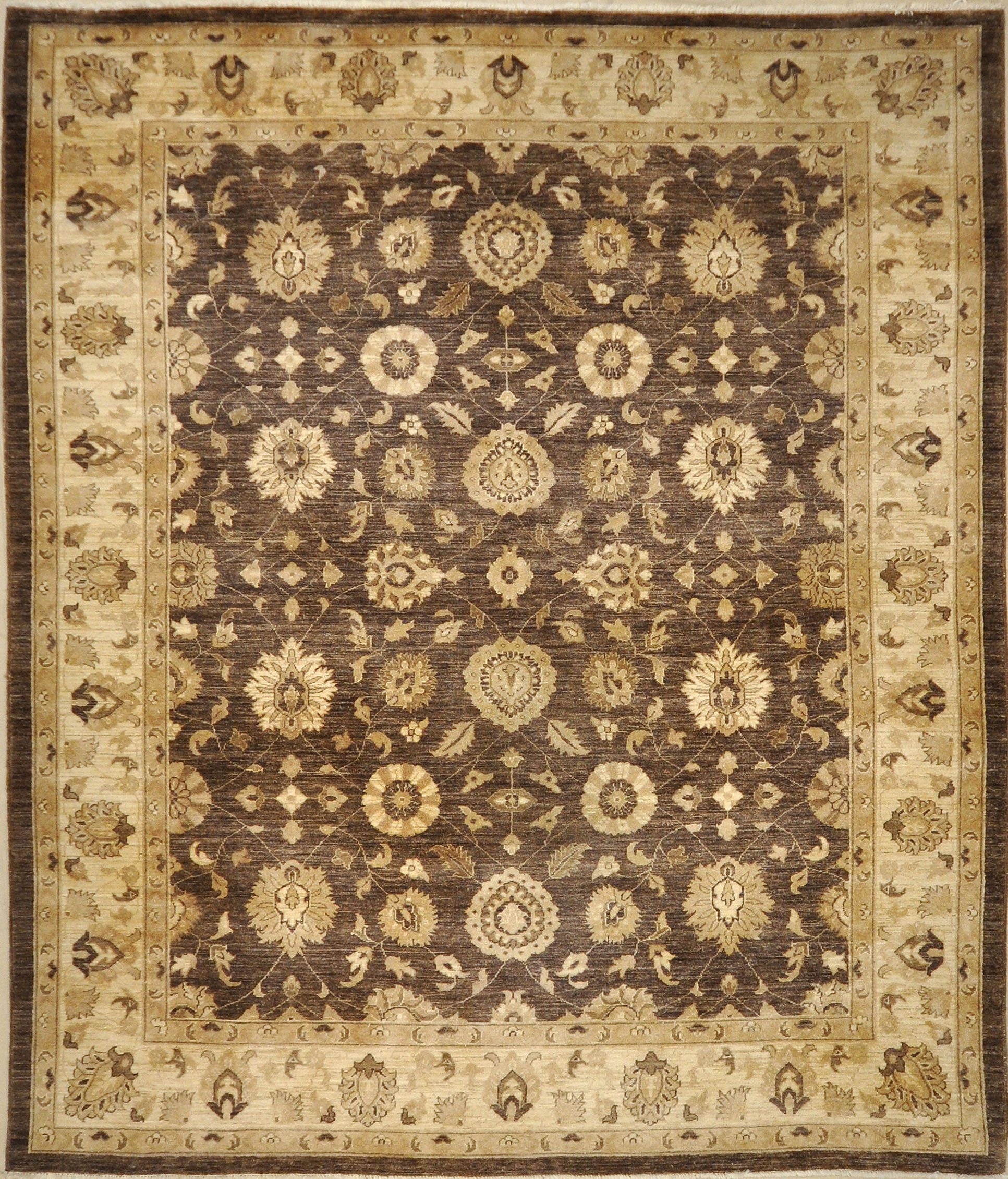 The rugs of Sultanabad are extremely desirable in the modern marketplace. The popularity of Sultanabad rugs go back to the mid-19th century 8'1 x 9'10