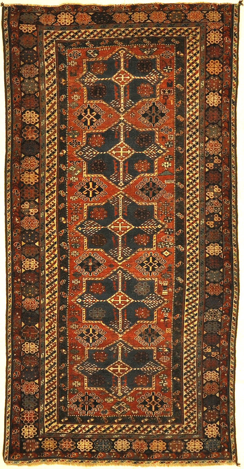 Antique West Persian Kurdish Rug | Santa Barbara Design Center | Rugs and More