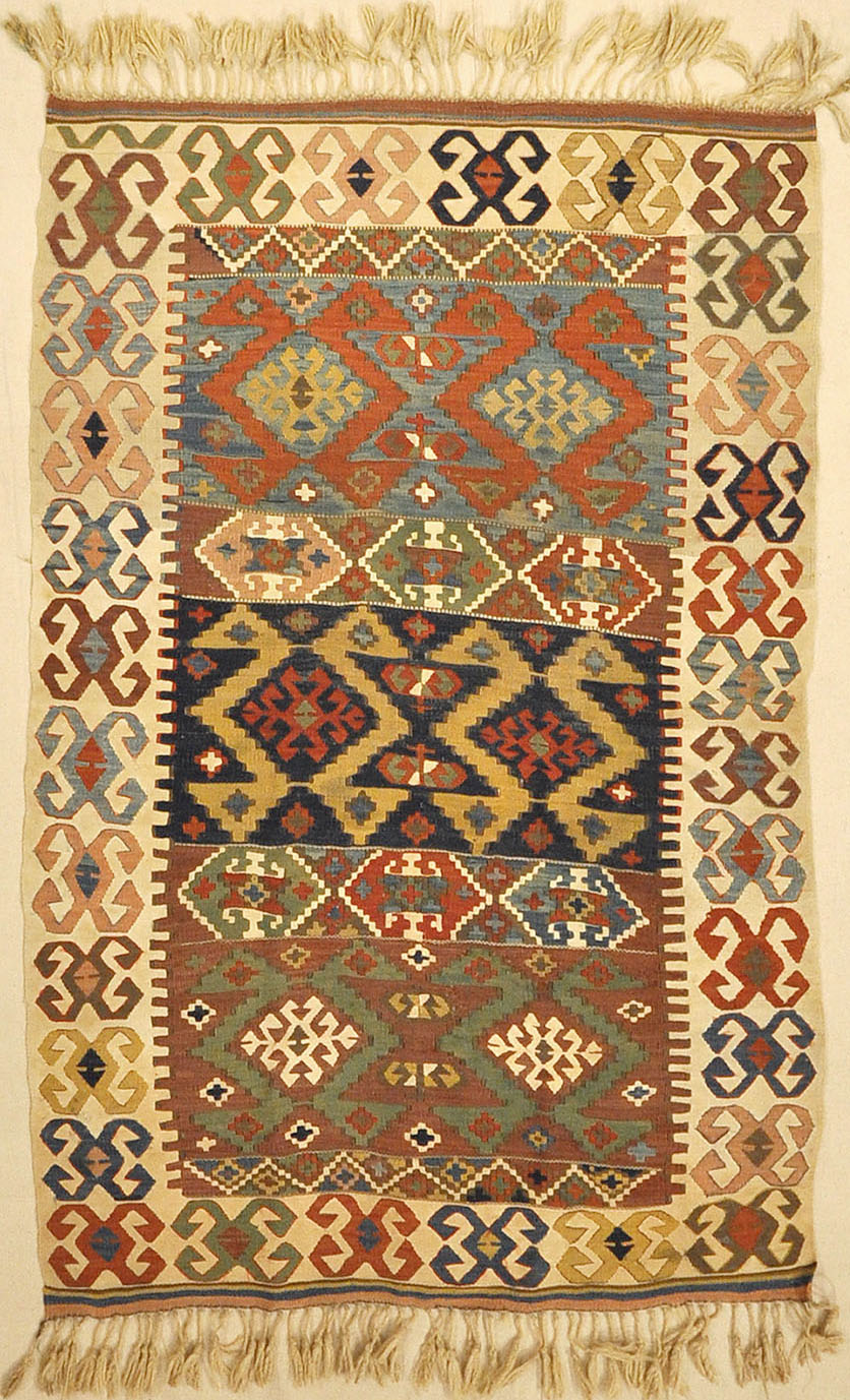 Fine Turkish Anatolia Rug From Late 18th Century Santa