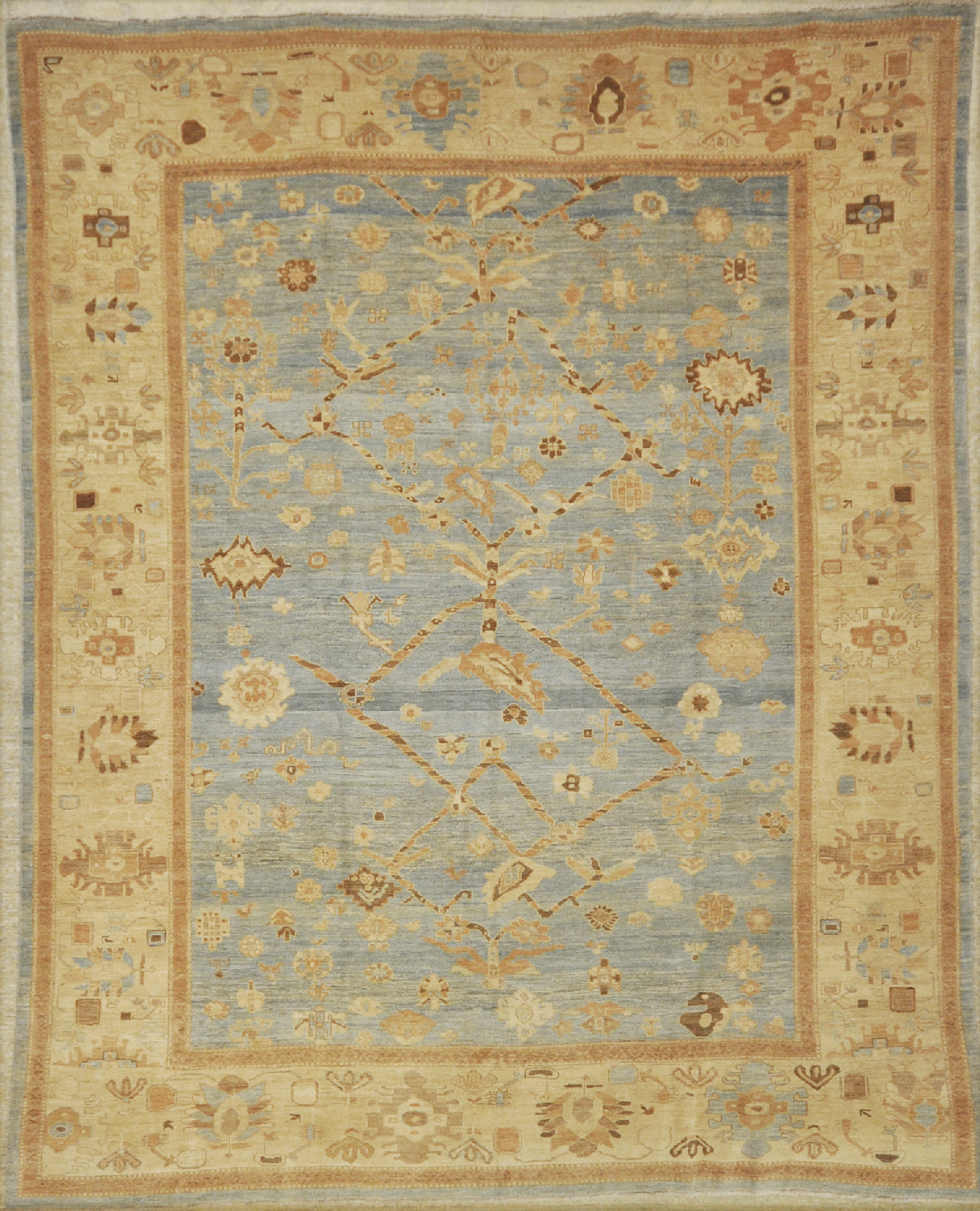 light persian bakhshayesh rug Santa barbara design center rugs and more oriental carpet