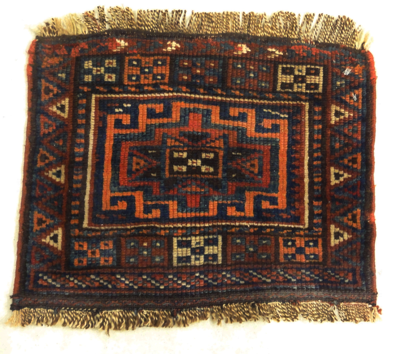 Antique Kurdish Woven CA 1890