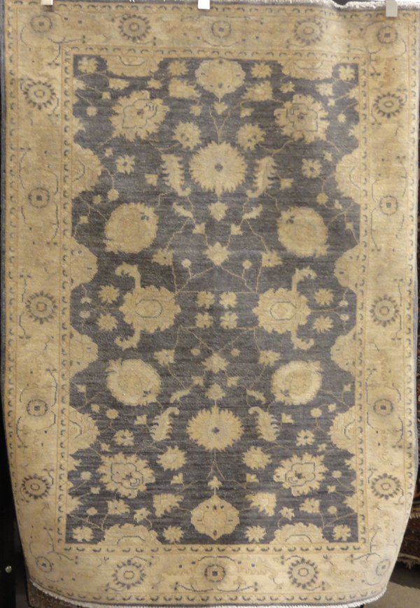 Blue Ziegler & Co Oushak rug santa barbara design center rugs and more oriental carpet