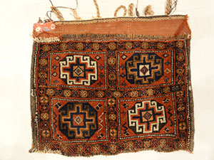 Antique Mogan Memling Gul Kurd Bag