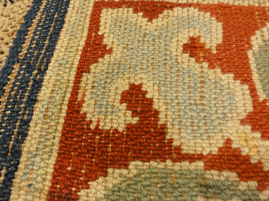 A William Morris 'Hammersmith' Carpet, hand knotted for Morris & Co, designed by John Henry Dearle circa 1890-95. Santa Barbara Design Center Rugs and More.