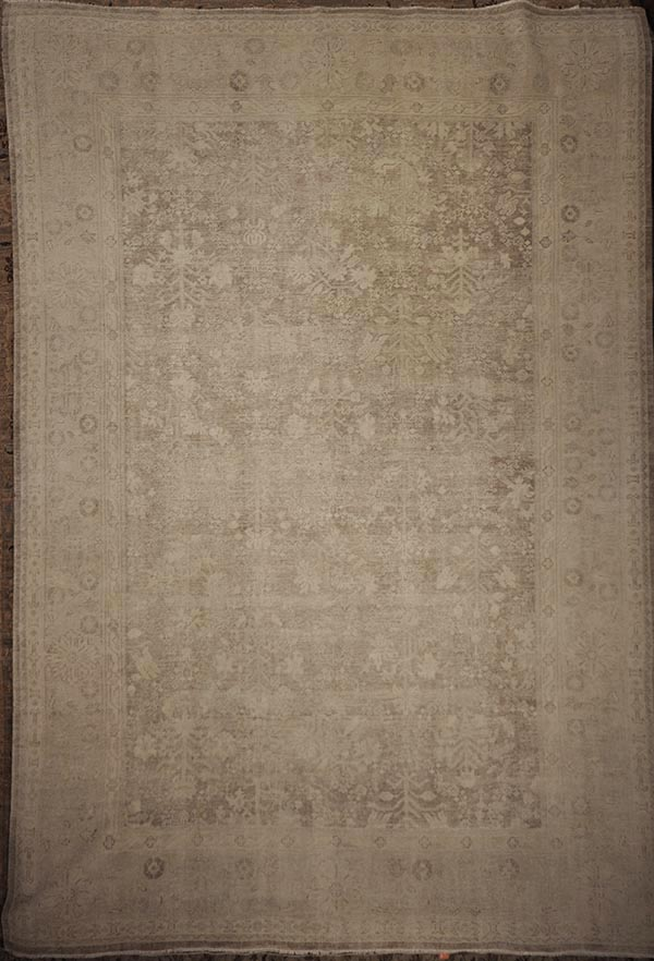Antiqued Oushak rugs and more oriental carpet 43528-