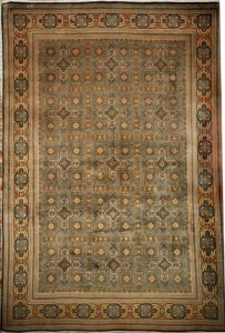 Fine Indo Tabriz rugs and more oriental carpet 31412-
