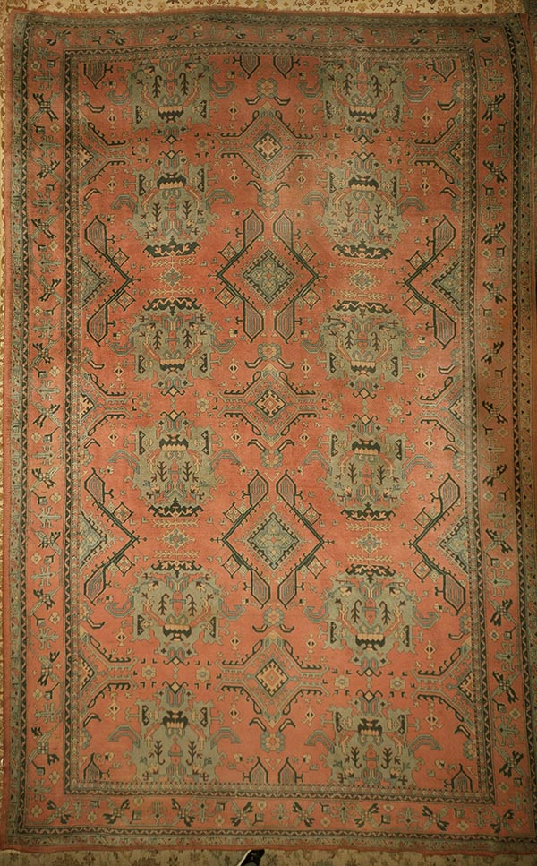 Antique Turkish Oushak rugs and more oriental carpet 31394-