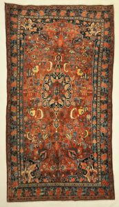Antique Tribal Bijar rugs and more oriental carpet 31390-